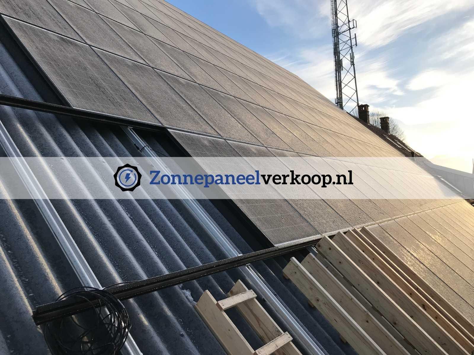zonnepaneel montage