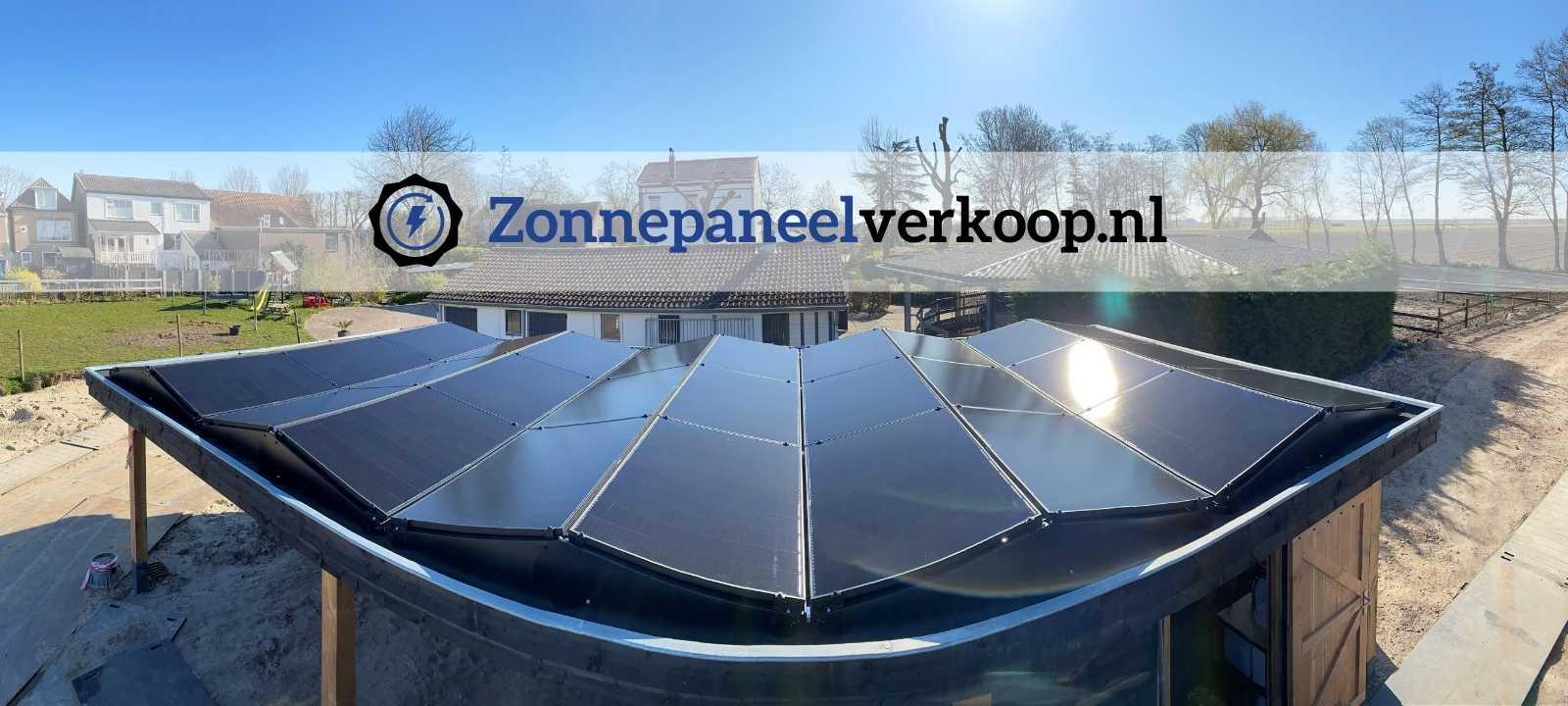 zonnepanelen op schuurdak