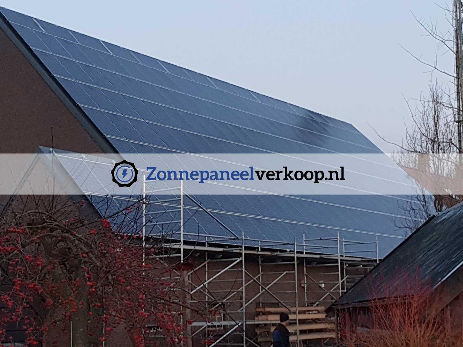 zonnepaneel volledig dak